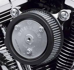 Harley-Davidson® Screamin' Eagle High-Flow Air Cleaner Kit - Twin Cam Chrome