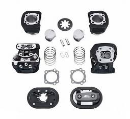 Harley-Davidson® Screamin' Eagle® Stage I Conversion Kit - Sportster® 883cc to 1200cc - Black Highlighted