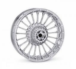 Harley-Davidson® Wheel | Turbine Custom in Mirror Chrome | 18 Inch Rear