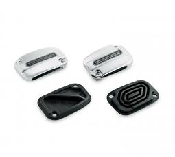 Harley-Davidson® Chrome Master Cylinder Cover Kit