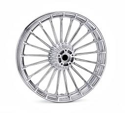 Harley-Davidson® Wheel | Turbine Custom in Mirror Chrome | 19 Inch Front