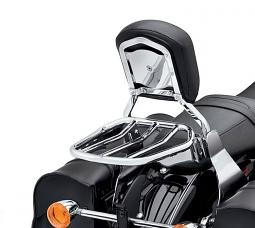 Harley-Davidson® Luggage Rack - Custom Tapered Sport - Chrome