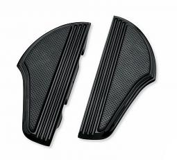 Harley-Davidson® Footboard Kit | Defiance Black Anodized | Passenger
