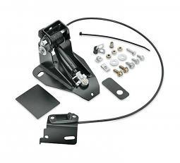 Harley-Davidson® Adjustable Rider Backrest Mounting Kit - '97-'08 Touring