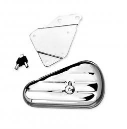 Harley-Davidson® Softail® Toolbox Chrome Right Side Mount