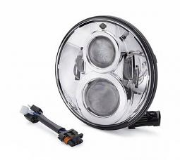 Harley-Davidson® Daymaker Projector LED Headlamp - Chrome 7""