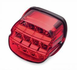 Harley-Davidson®  Layback LED Tail Lamp | Red Lens