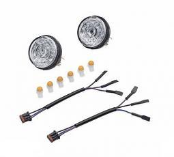 Harley-Davidson® LED Bullet Turn Signal Insert Kit - Amber