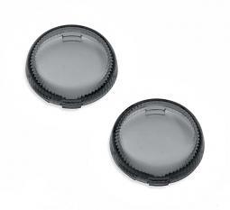 Harley-Davidson® Lenses for LED Bullet Turn Signal Inserts - Smoked