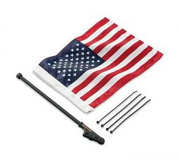 Harley-Davidson® American Flag Kit - Sissy Bar Mount
