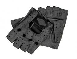 Harley-Davidson® Men's Bar & Shield® Fingerless Gloves