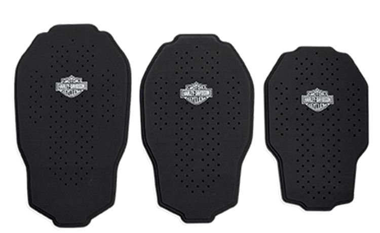 Harley-Davidson® Bar & Shield® Black Tri-Layer 3-D Mesh-Back Body Armor