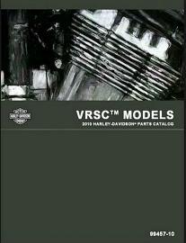 Harley-Davidson® Parts Catalog for 2010 V-Rod® Models