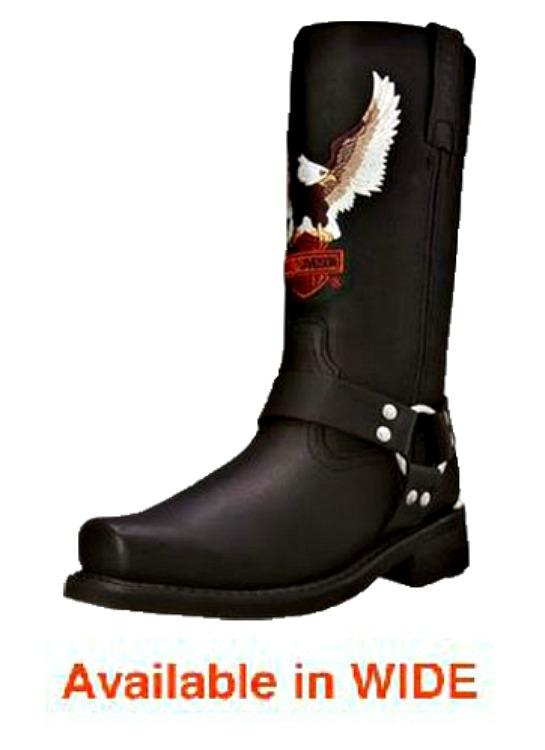 "Harley-Davidson® Men's 11.5"" Darren Leather Lifestyle Boots"