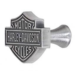 Harley-Davidson® Bar & Shield® Knob | Antique Pewter Finish