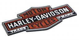 Harley-Davidson® Nostalgic Bar & Shield® Beverage Mat   Non-Slip
