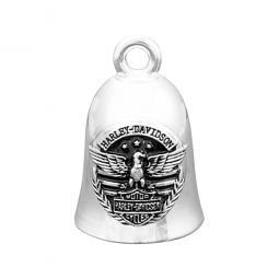 Harley-Davidson® American Eagle Silver-Tone Ride Bell  Bar & Shield®