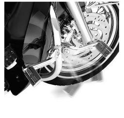 Harley-Davidson® Adjustable Highway Peg Mounting Kit Long Angled Chrome 50829-07A