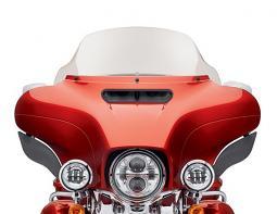 Harley-Davidson® 10 Inch Wind Splitter Windshield Light Smoke