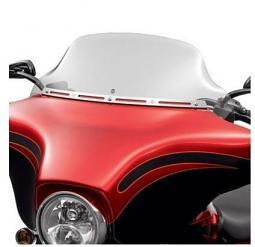 Harley-Davidson® 10 Inch Wind Splitter Windshield  in Light Smoke
