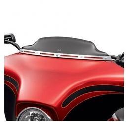 Harley-Davidson®  4.5 Inch Wind Splitter Windshield in Dark Smoke