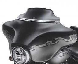 Harley-Davidson® 7 Inch Wind Splitter Windshield Dark Smoke