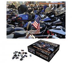 Harley-Davidson® American Flag Collectors' Edition Puzzle