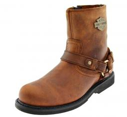 """Harley-Davidson® Men's 7"""" Scout Brown Leather Lifestyle Boots"""
