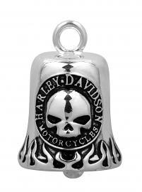 Harley-Davidson® Classic Willie G® Skull Flame Ride Bell