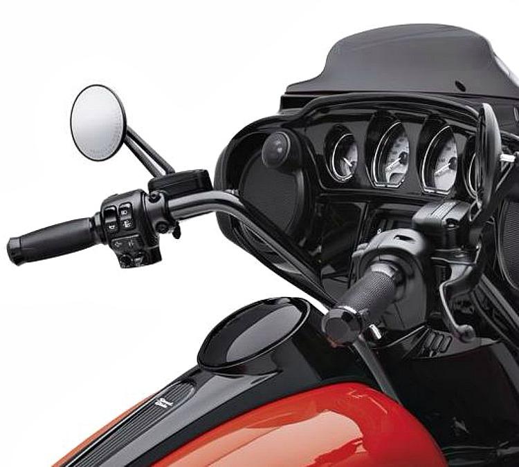 Harley-Davidson® Handlebar | Batwing Reach | Gloss Black - 55800590