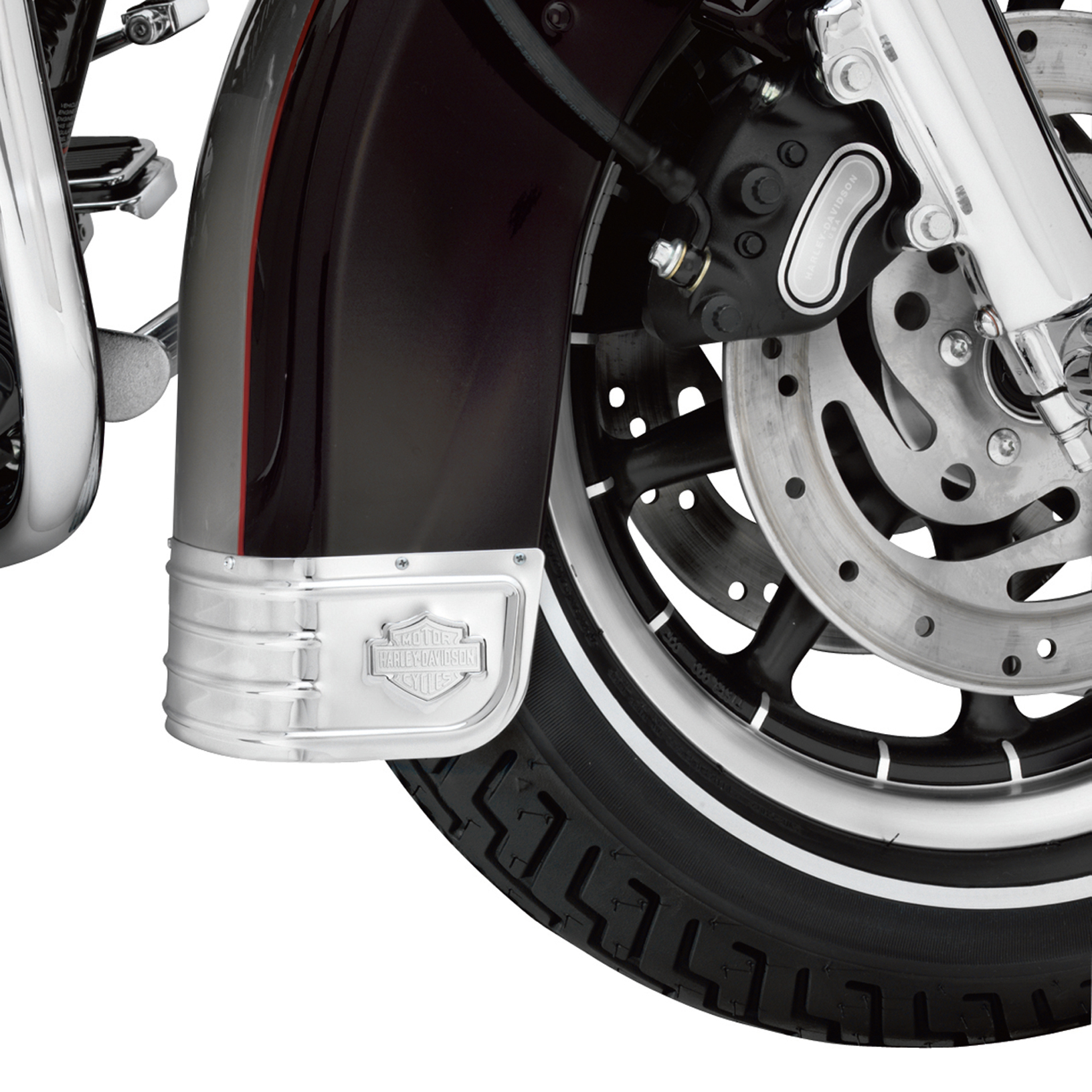 Harley-Davidson® Fender Skirt - Chrome - 59228-91