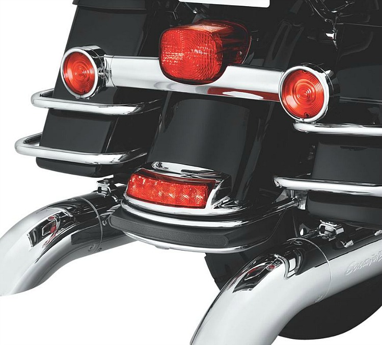Harley-Davidson® Rear Fender Tip Light | Auxiliary Running Light/Brake  Light | Red - 59685-10