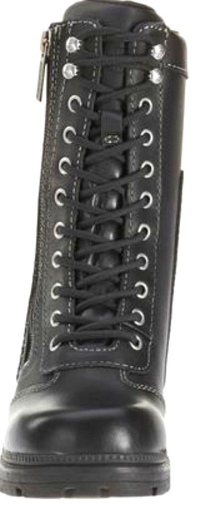 7e74bd67e4c7 ... Harley-Davidson reg  Women s Tessa Leather Combat Lifestyle Boots ...