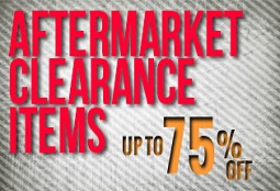 Aftermarket Parts Clearance