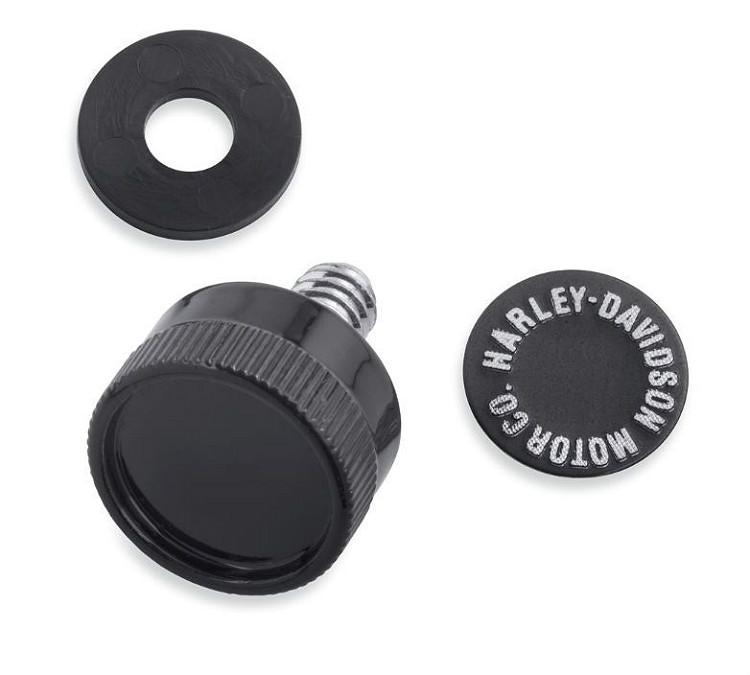 Harley-Davidson® Quick-Release Seat Hardware Kit   Gloss Black