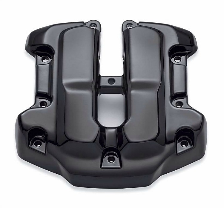 harley davidson reg upper rocker box cover milwaukee eight engine rh houseofharley com harley davidson mailbox covers harley davidson fuse box cover