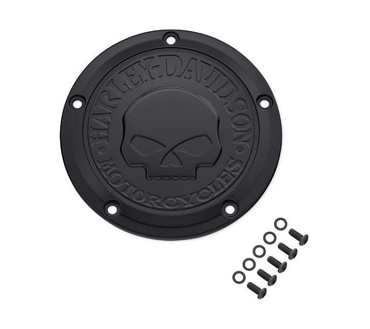 Harley-Davidson® Willie G® Skull Black Collection | Derby Cover