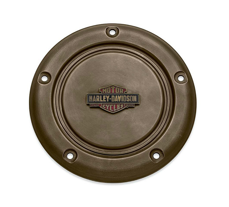 Harley-Davidson® Brass Collection | Derby Cover | '18-Later Sport Glide® & '19-Later Softail® Models
