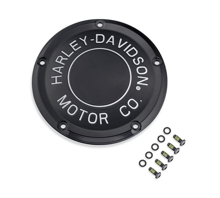 Harley-Davidson® H-D Motor Co. Black Collection | Derby Cover Kit