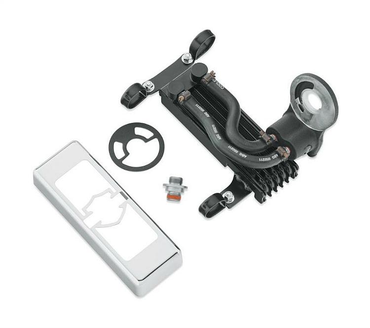 Harley-Davidson® Premium Oil Cooler Kit | Softail® | Center Mount