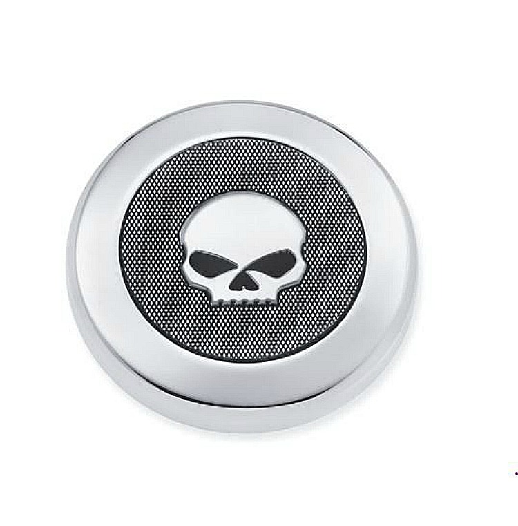 Harley-Davidson® Willie G® Skull Chrome Collection | Heavy Breather Air Cleaner Decorative End-cap