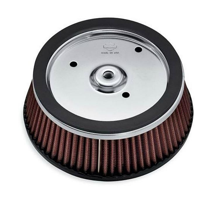 Harley-Davidson® Screamin' Eagle High-Flo K&N Air Filter Elet ...