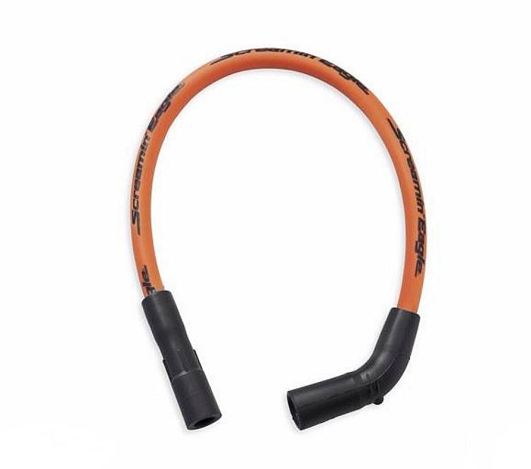 Harley-Davidson® Screamin' Eagle® 10mm Phat Spark Plug Wires | Dyna '99-later | Orange