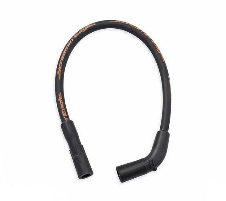 Harley-Davidson® Screamin' Eagle® 10mm Phat Spark Plug Wires   Softail '00-later   Black