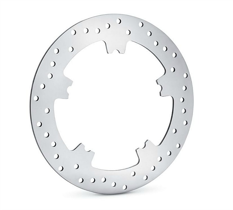 Harley-Davidson® Polished Floating Brake Rotor | FRONT