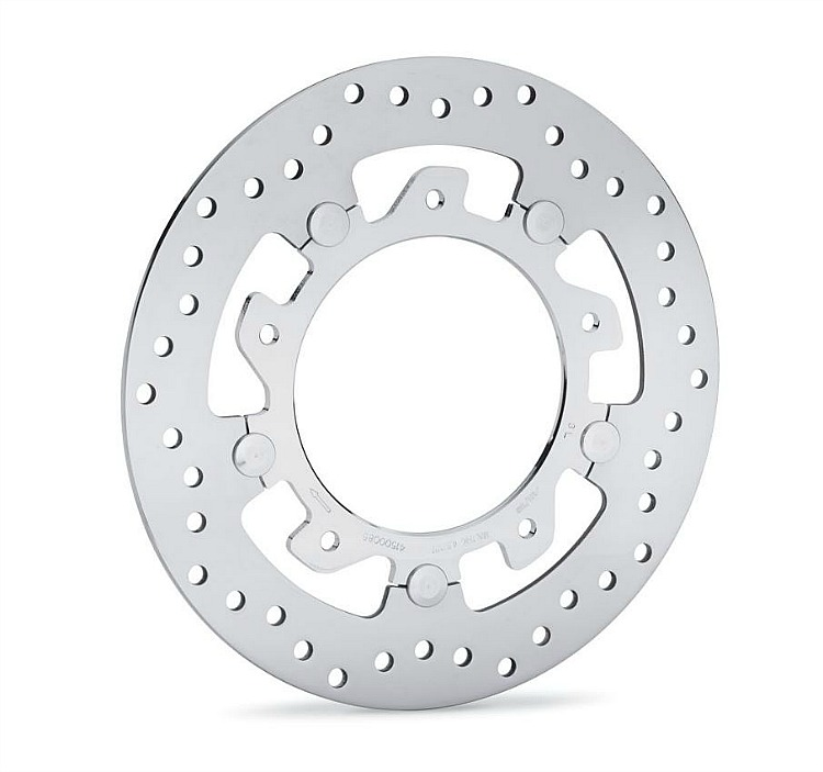 Harley-Davidson® Aggressor Floating Brake Rotor | Front Right | Polished