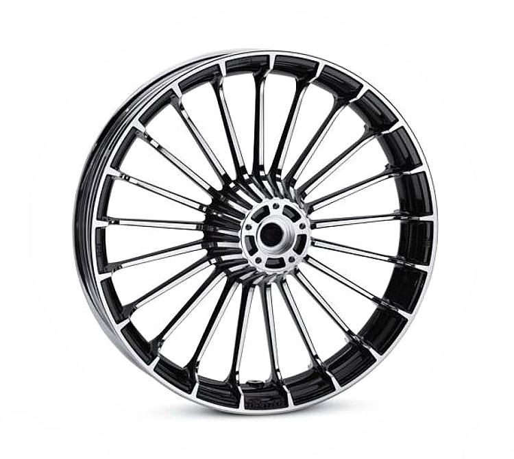 Harley-Davidson® Turbine Wheel | Contrast Chrome | 19 Inch Front