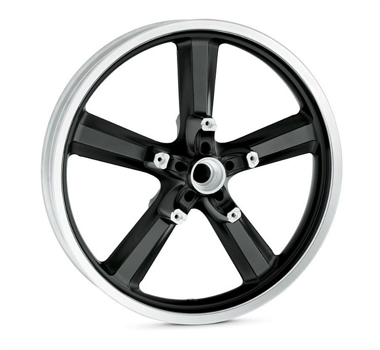 Harley-Davidson® 5 Spoke Wheel | Black | 19 Inch Front