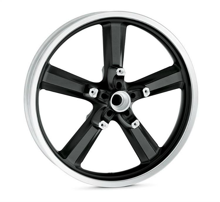 Harley-Davidson® 5 Spoke Wheel | Black | 19 Inch Front