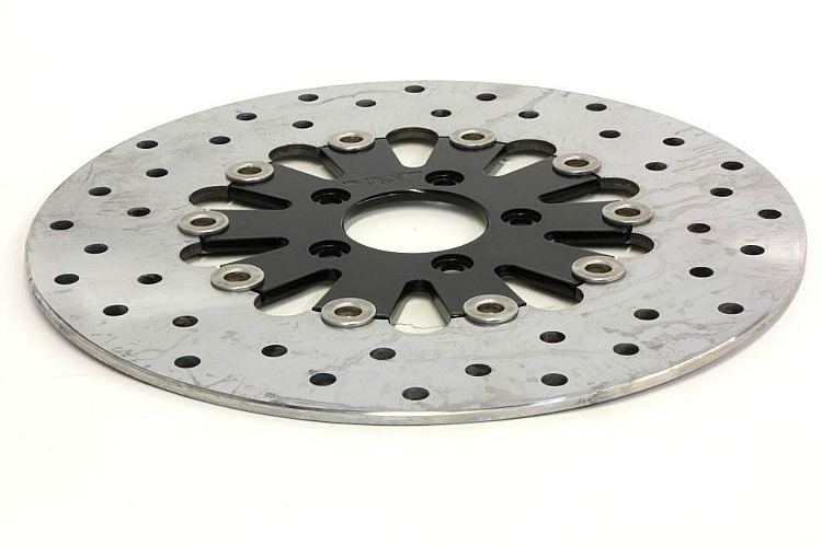 Harley-Davidson® Floating Brake Rotors | Teardrop Black - 44973-10